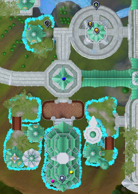 features of the iorwerth area