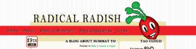 radical radish