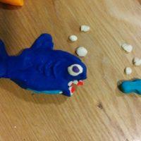 plasticine fish