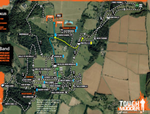 tough mudder course map