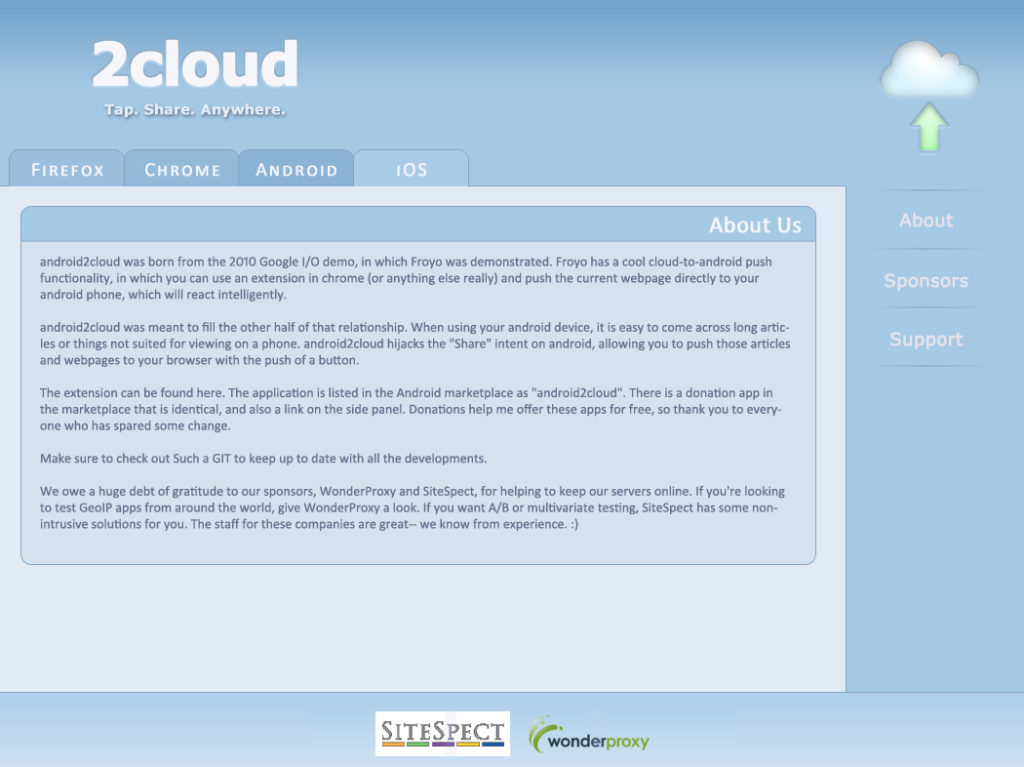 2Cloud Project icon