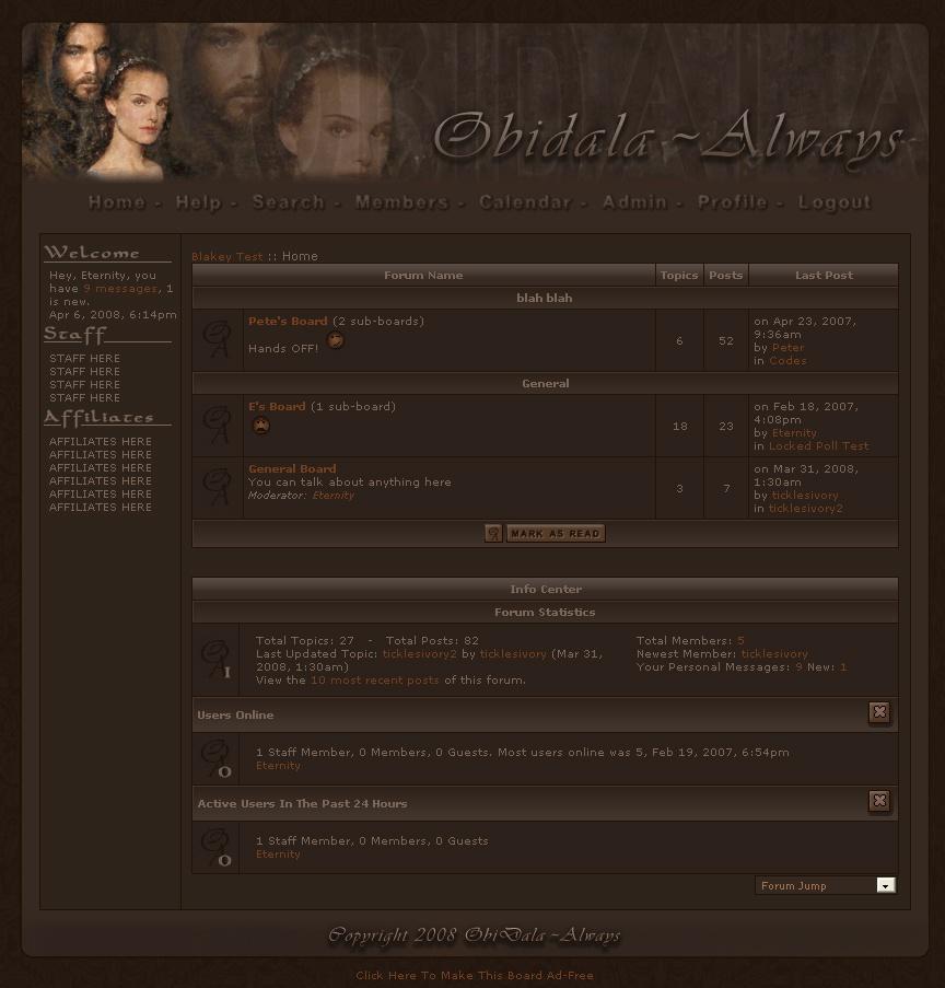 Obidala ~ Always (dark theme) icon