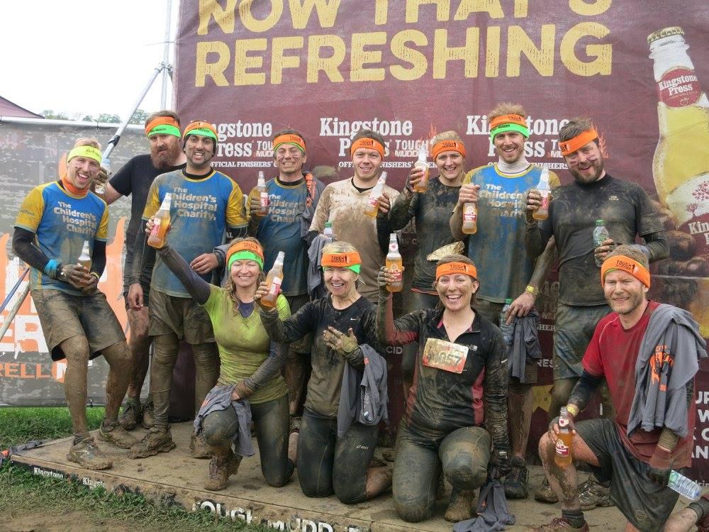 tough mudder after photo