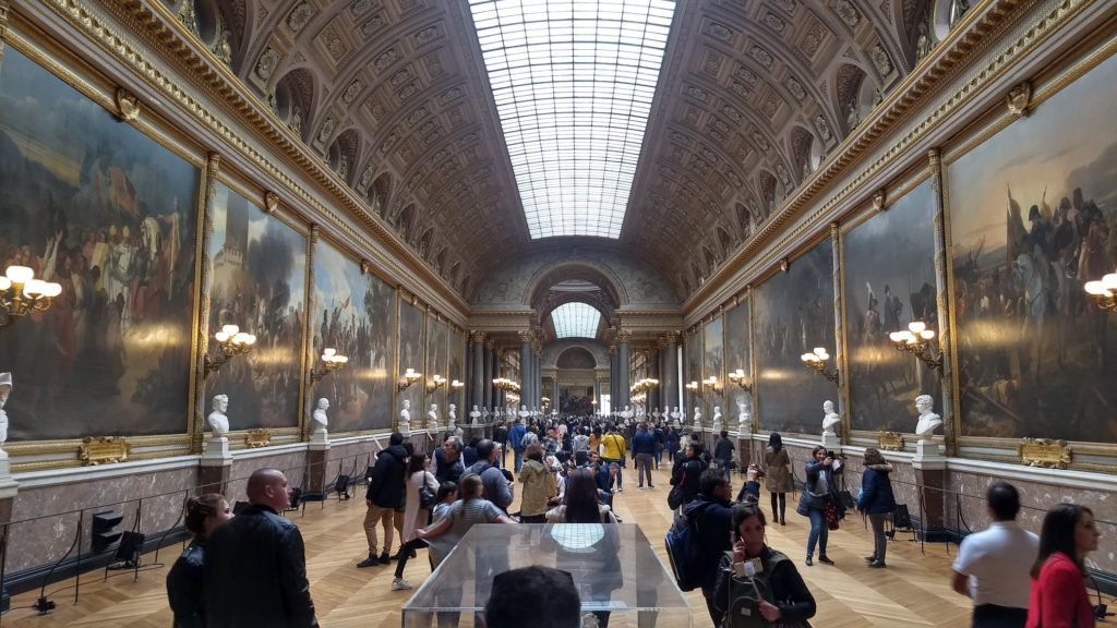 south wing gallery of versailles