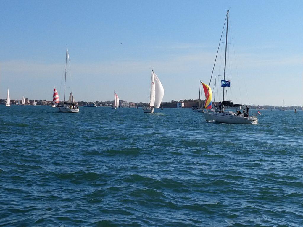 Boats on the Rio dei Carmini icon
