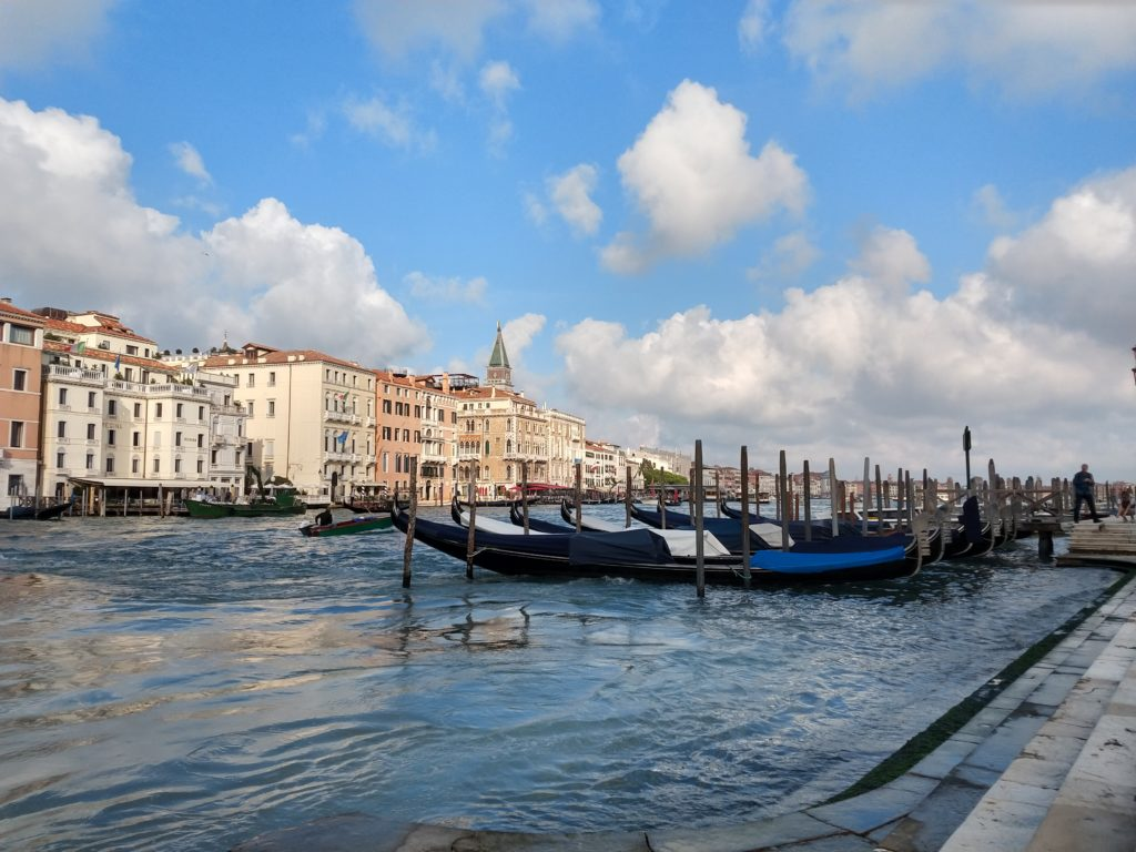 view along the grand canal