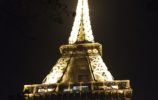 the tour eiffel all lit up